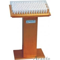 LAMPADARIO  METÁLICO  DE VELAS LED, DESDE 1.623,92€