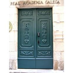 RESTAURACIÓN  PORTA  DÁ REAL ACADEMIA GALEGA - A CORUÑA