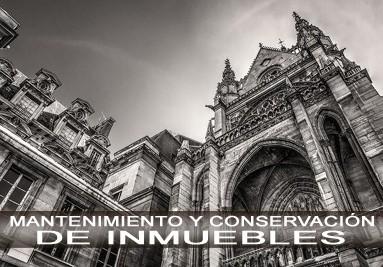 MANTENIMIENTO Y CONSERVACIÓN  DE INMUEBLES.